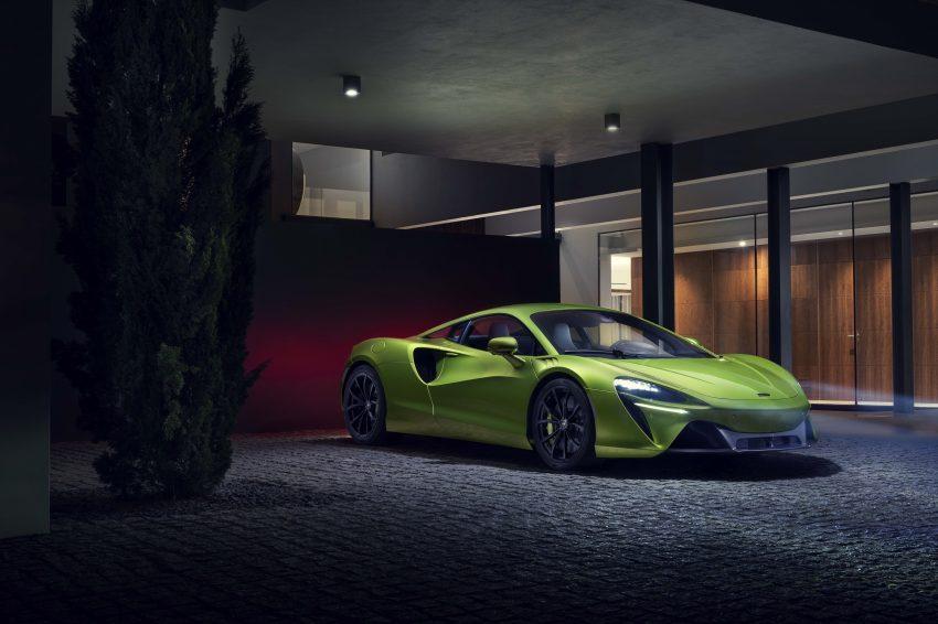 2022 McLaren Artura - Front Three-Quarter Wallpapers 850x566 #23