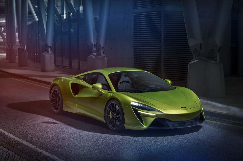 2022 McLaren Artura - Front Three-Quarter Wallpapers 850x566 #25