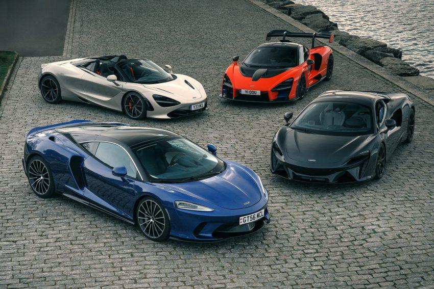2022 McLaren Artura, McLaren 720S, McLaren Senna and McLaren GT Wallpapers 850x567 #9