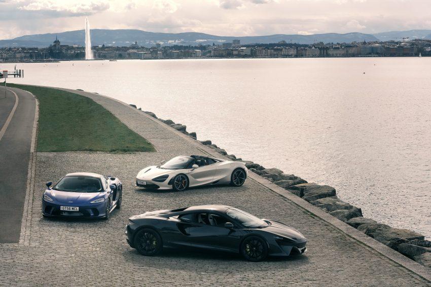 2022 McLaren Artura, McLaren 720S and McLaren GT Wallpapers 850x567 #13