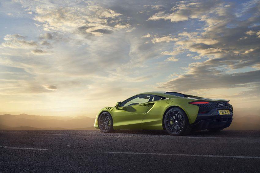 2022 McLaren Artura - Rear Three-Quarter Wallpapers 850x566 #22