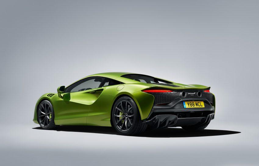 2022 McLaren Artura - Rear Three-Quarter Wallpapers 850x545 #31