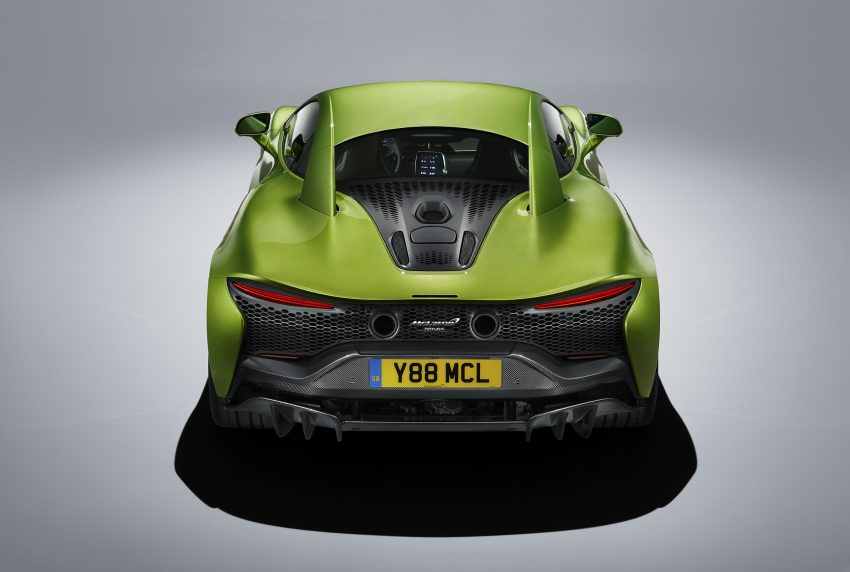 2022 McLaren Artura - Rear Wallpapers 850x572 #32