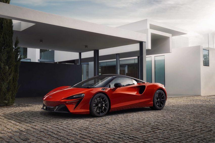 2022 McLaren Artura [UK-spec] - Front Three-Quarter Wallpapers 850x567 #14