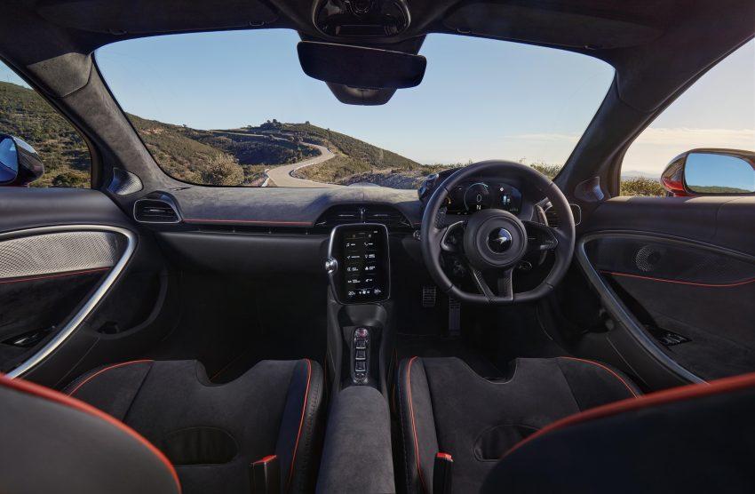 2022 McLaren Artura [UK-spec] - Interior, Cockpit Wallpapers 850x556 #41