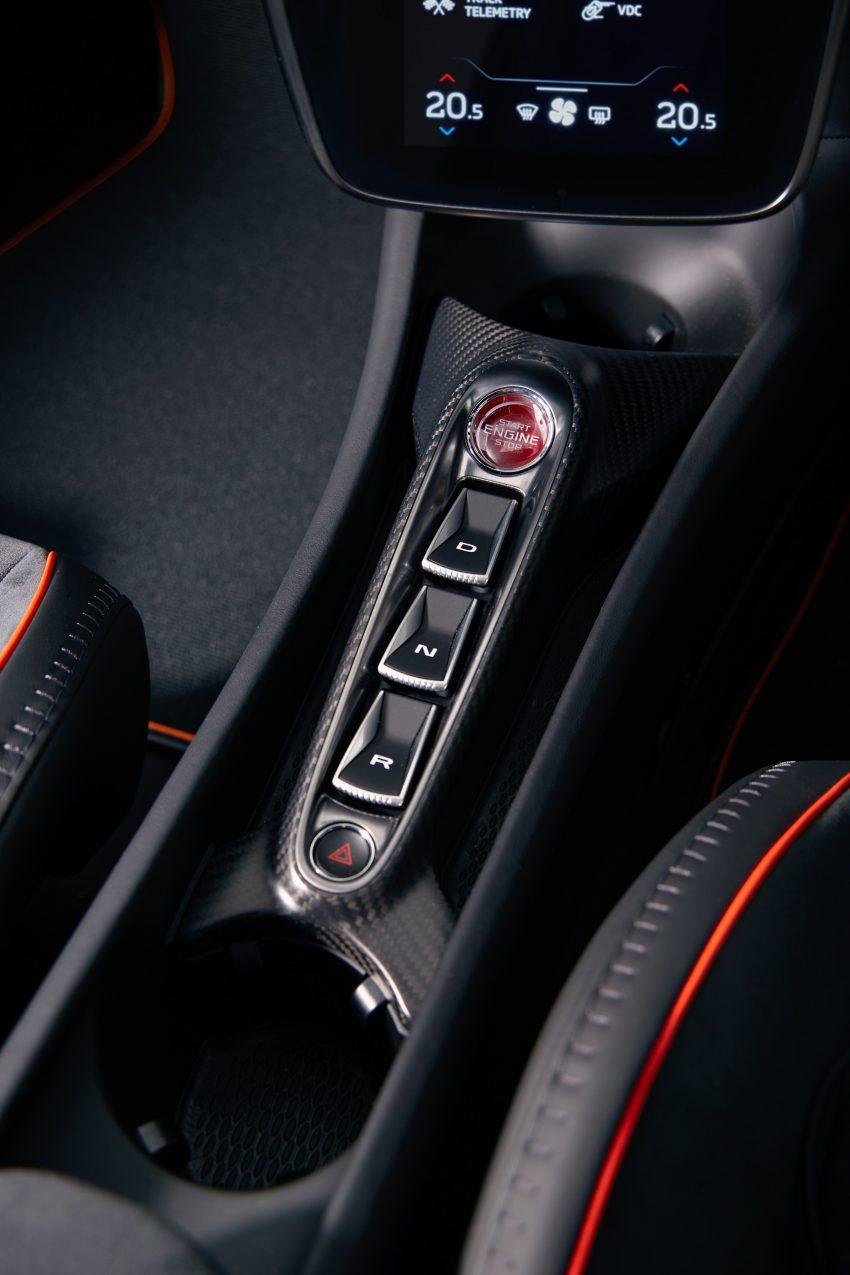 2022 McLaren Artura [UK-spec] - Interior, Detail Phone Wallpapers 850x1275 #39