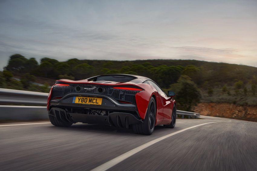 2022 McLaren Artura [UK-spec] - Rear Wallpapers 850x567 #7