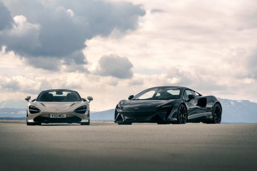 2022 McLaren Artura and McLaren 720S Wallpapers 850x567 #10