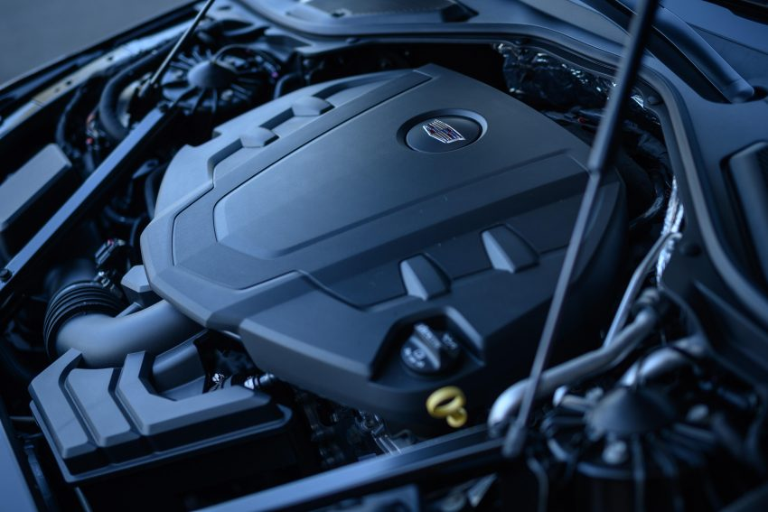 2020 Cadillac CT6 Platinum - Engine Wallpapers 850x567 #6