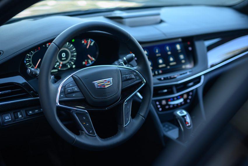 2020 Cadillac CT6 Platinum - Interior, Steering Wheel Wallpapers 850x567 #13