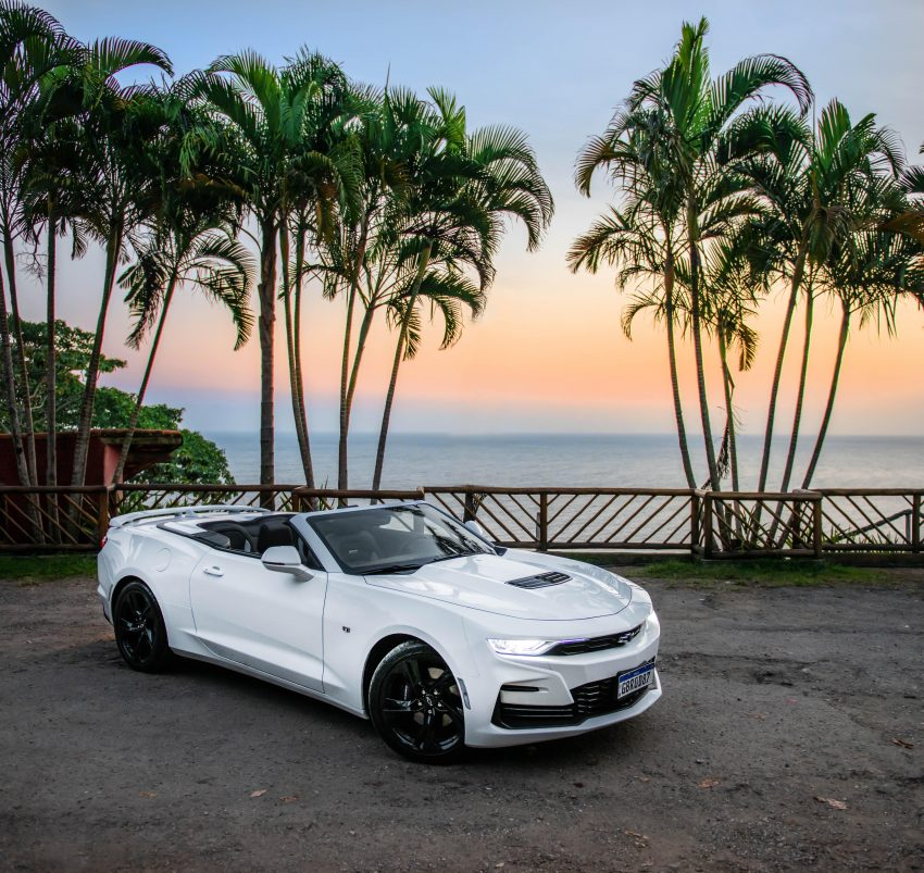 2020 Chevrolet Camaro SS Convertible - Front Three-Quarter Wallpapers 850x803 #5