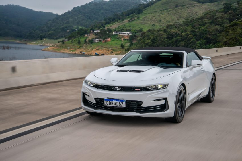 2020 Chevrolet Camaro SS Convertible - Front Wallpapers 850x567 #1