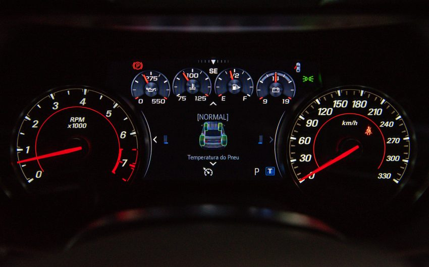2020 Chevrolet Camaro SS Convertible - Instrument Cluster Wallpapers 850x529 #8