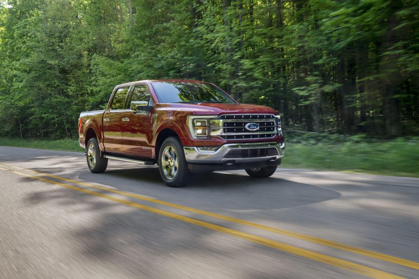 2020 Ford F-150 Lariat SuperCrew - Front Three-Quarter Wallpapers 850x567 #3