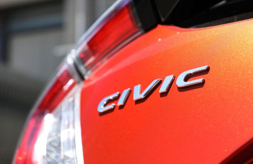 2020 Honda Civic RS Hatchback [AU-spec] - Badge Wallpapers 850x549 #32