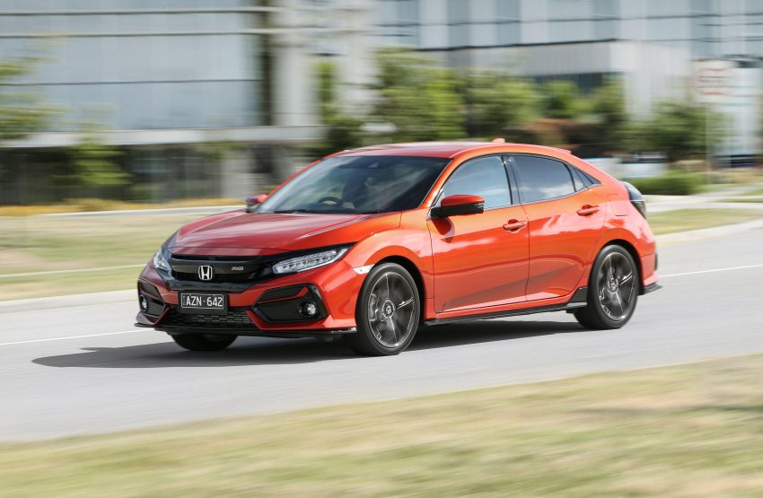 2020 Honda Civic RS Hatchback [AU-spec] - Front Three-Quarter Wallpapers 850x555 #3