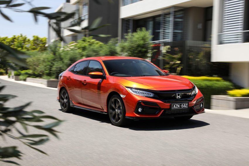 2020 Honda Civic RS Hatchback [AU-spec] - Front Three-Quarter Wallpapers 850x567 #14