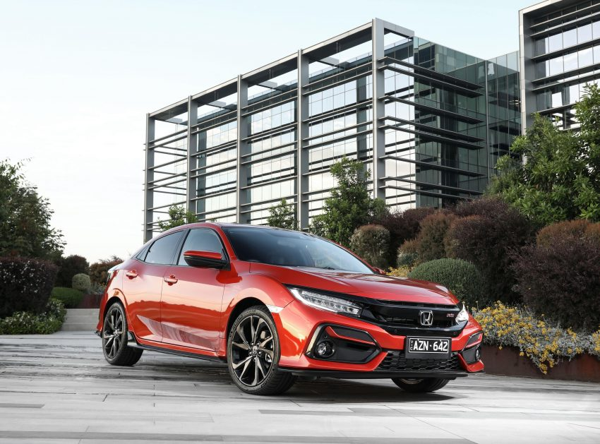 2020 Honda Civic RS Hatchback [AU-spec] - Front Three-Quarter Wallpapers 850x629 #15