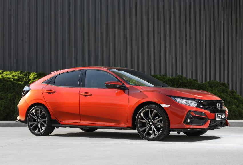 2020 Honda Civic RS Hatchback [AU-spec] - Front Three-Quarter Wallpapers 850x578 #22