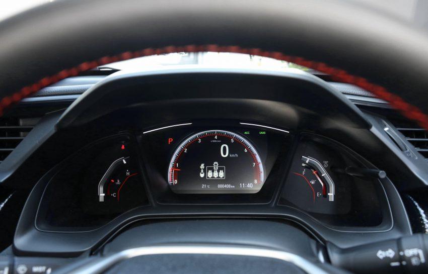 2020 Honda Civic RS Hatchback [AU-spec] - Instrument Cluster Wallpapers 850x545 #34