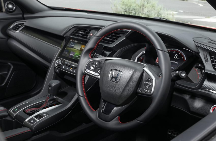 2020 Honda Civic RS Hatchback [AU-spec] - Interior, Steering Wheel Wallpapers 850x557 #40