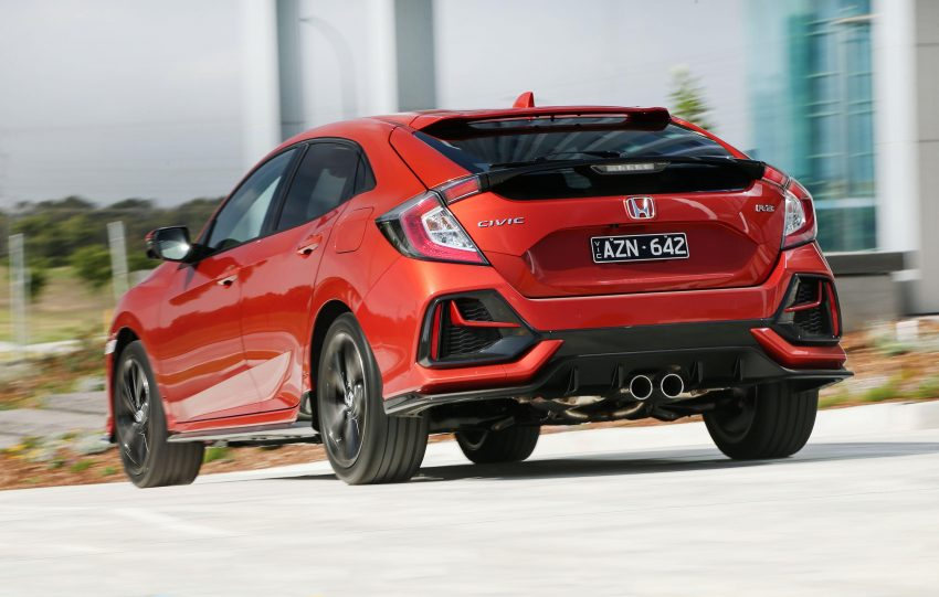 2020 Honda Civic RS Hatchback [AU-spec] - Rear Wallpapers 850x541 #13