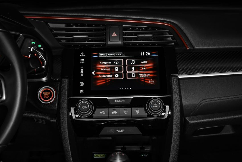 2020 Honda Civic Si Coupe - Central Console Wallpapers 850x567 #41