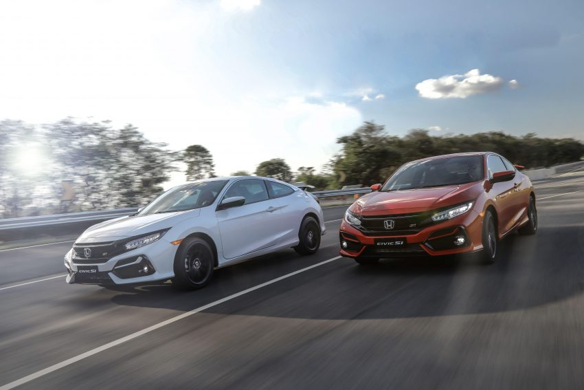 2020 Honda Civic Si Coupe - Front Three-Quarter Wallpapers 850x567 #2