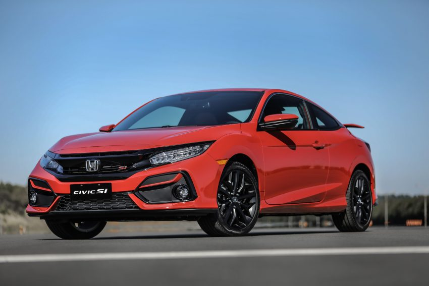 2020 Honda Civic Si Coupe - Front Three-Quarter Wallpapers 850x567 #14