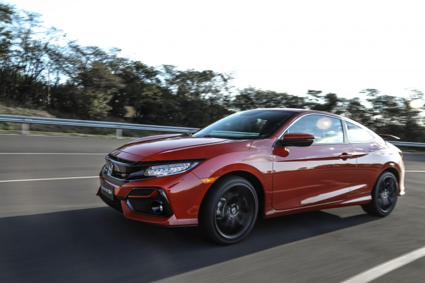 2020 Honda Civic Si Coupe - Front Three-Quarter Wallpapers 850x567 #6
