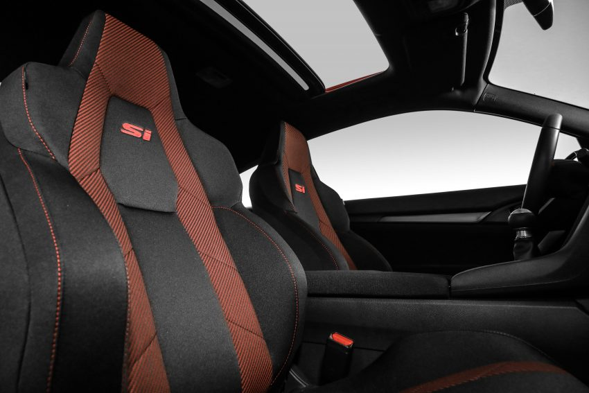 2020 Honda Civic Si Coupe - Interior, Front Seats Wallpapers 850x567 #43