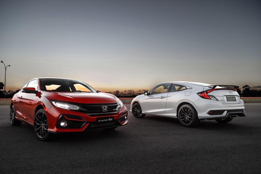 2020 Honda Civic Si Coupe Wallpapers 850x567 #20