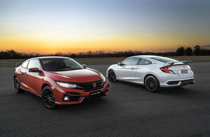 2020 Honda Civic Si Coupe Wallpapers 850x556 #19