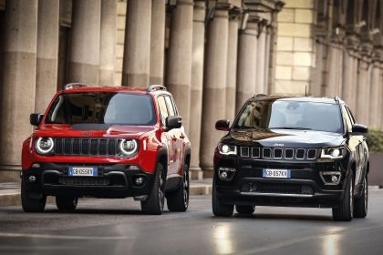 2020 Jeep Compass Limited 4xe [EU-spec] - Front Wallpapers 420x280