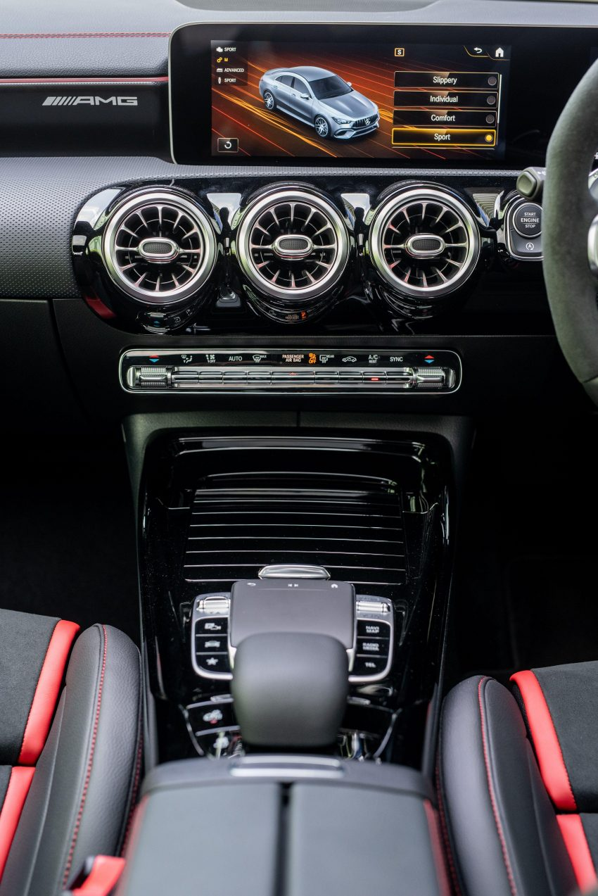 2020 Mercedes-AMG CLA45 S 4Matic+ - Central Console Phone Wallpapers 850x1273 #38
