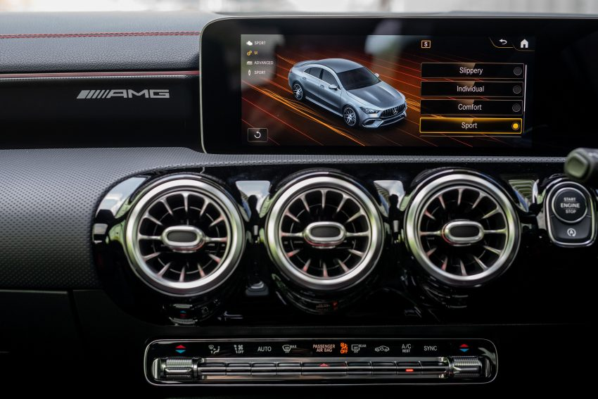 2020 Mercedes-AMG CLA45 S 4Matic+ - Digital Instrument Cluster Wallpapers 850x567 #33