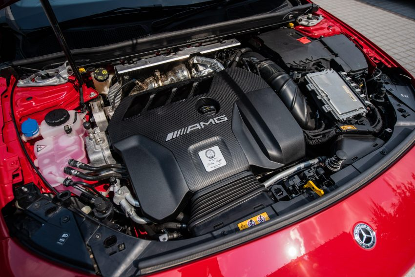 2020 Mercedes-AMG CLA45 S 4Matic+ - Engine Wallpapers 850x567 #20