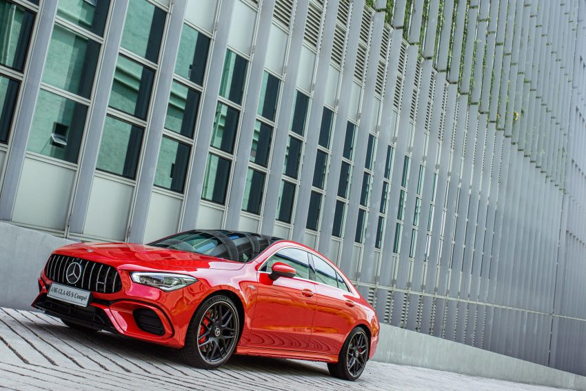 2020 Mercedes-AMG CLA45 S 4Matic+ - Front Three-Quarter Wallpapers 850x567 #1