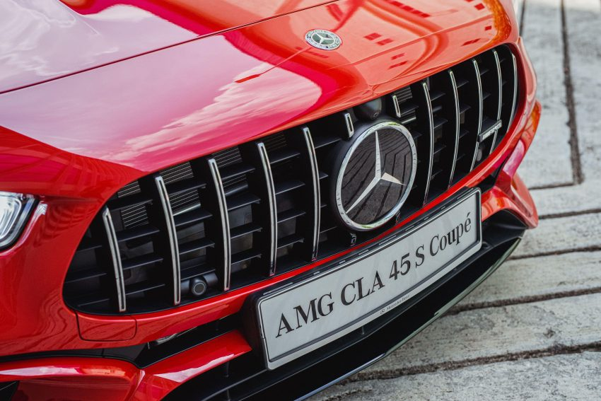 2020 Mercedes-AMG CLA45 S 4Matic+ - Grill Wallpapers 850x567 #18