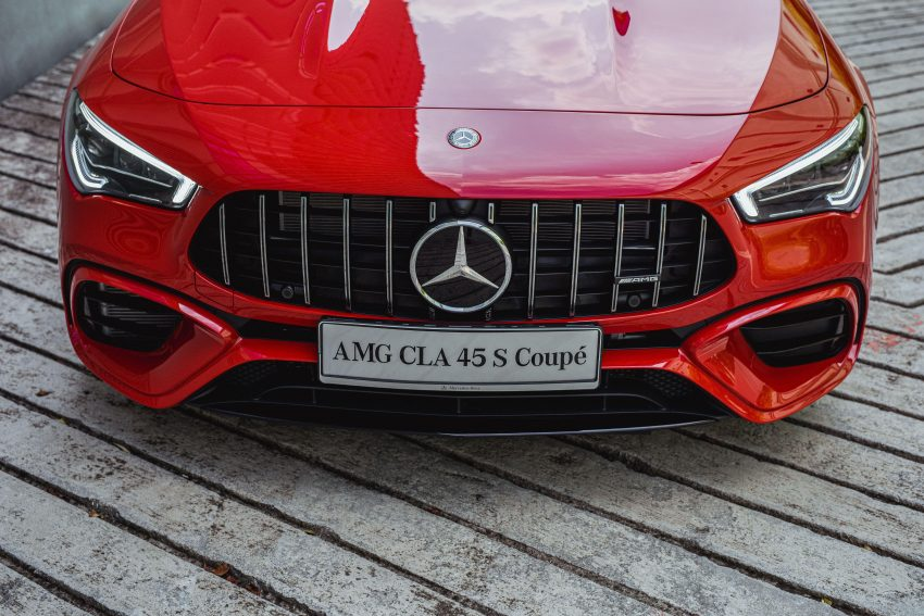 2020 Mercedes-AMG CLA45 S 4Matic+ - Grill Wallpapers 850x567 #17