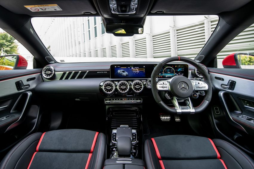2020 Mercedes-AMG CLA45 S 4Matic+ - Interior, Cockpit Wallpapers 850x567 #30