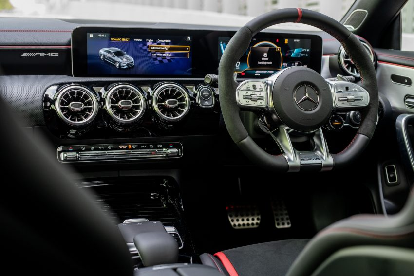 2020 Mercedes-AMG CLA45 S 4Matic+ - Interior, Steering Wheel Wallpapers 850x567 #24