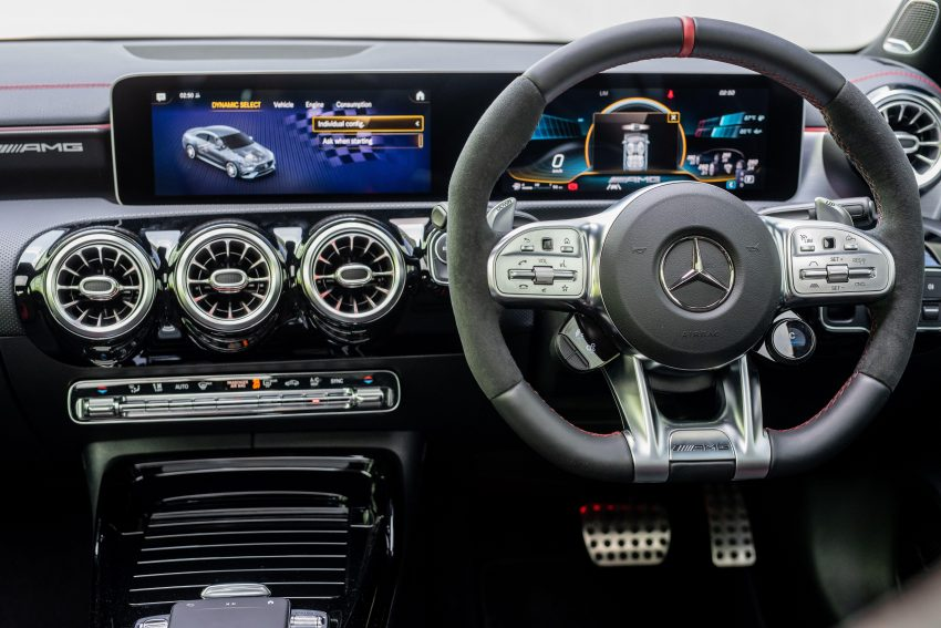 2020 Mercedes-AMG CLA45 S 4Matic+ - Interior, Steering Wheel Wallpapers 850x567 #23
