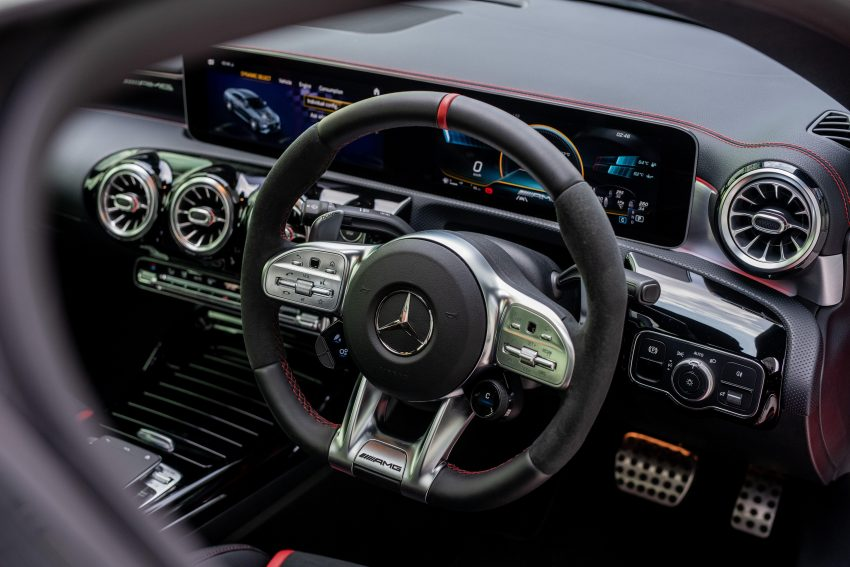2020 Mercedes-AMG CLA45 S 4Matic+ - Interior, Steering Wheel Wallpapers 850x567 #22