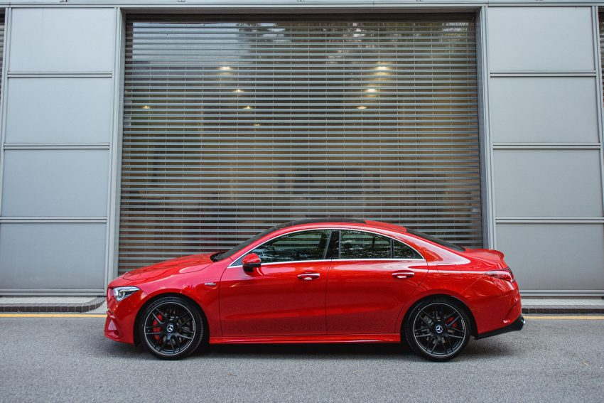 2020 Mercedes-AMG CLA45 S 4Matic+ - Side Wallpapers 850x567 #7
