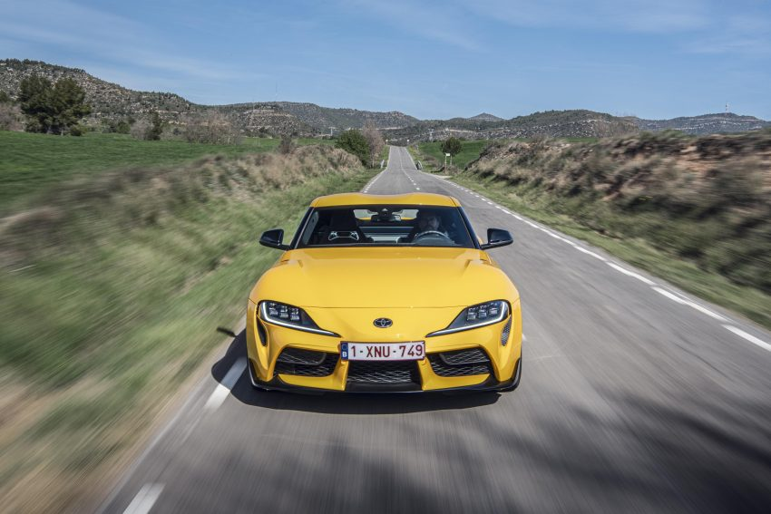 2021 Toyota GR Supra 2.0L Turbo - Front Wallpapers 850x567 #8