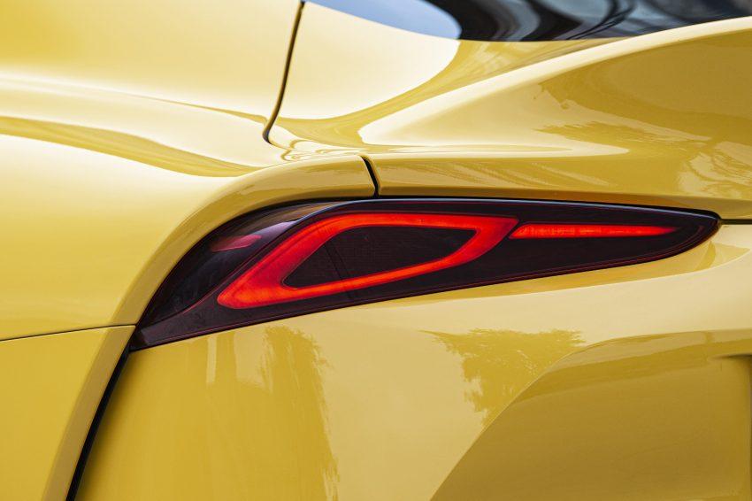 2021 Toyota GR Supra 2.0L Turbo - Tail Light Wallpapers 850x566 #38