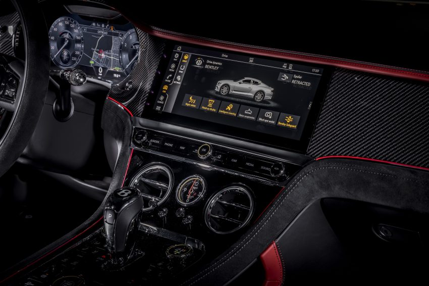 2022 Bentley Continental GT Speed - Central Console Wallpapers 850x566 #25