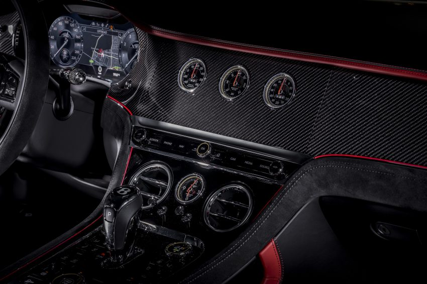 2022 Bentley Continental GT Speed - Central Console Wallpapers 850x566 #24