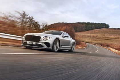2022 Bentley Continental GT Speed - Front Three-Quarter Wallpapers 420x280